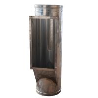 Ствол мусоропровода с окном под клапан