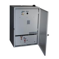 Щит управления устройством прочистки мусоропровода с автоматической системой пожаротушения