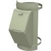 Клапан мусоропровода навесной